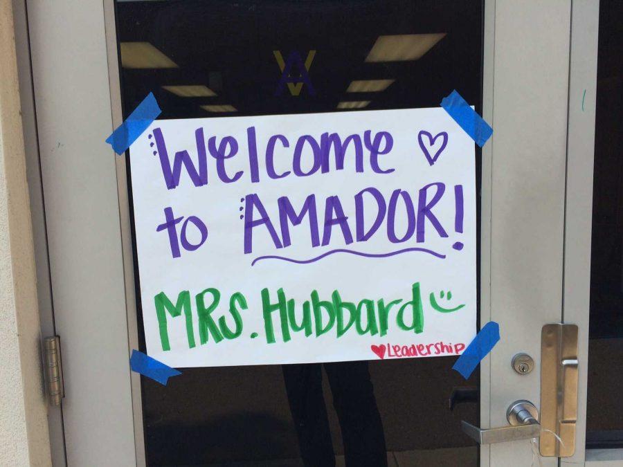 Amador leadership welcome new teachers