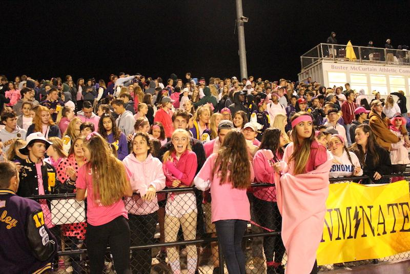 Pink Out Game Makes a Difference