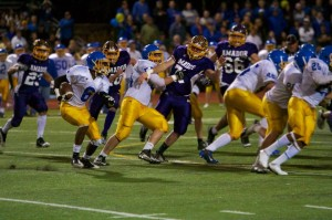Amador football had an upset lost to Foothill this year after winning last year's close game.