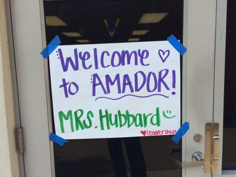 Amador leadership welcome new teachers