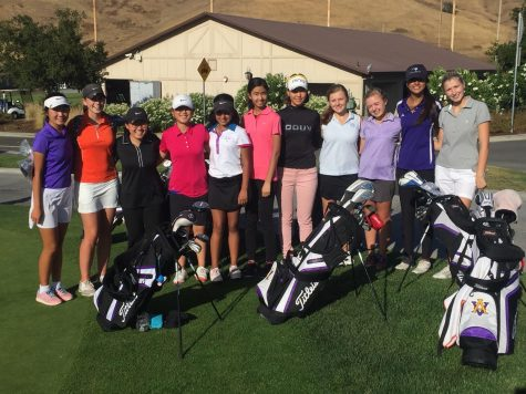 Girl's Golf Team is on par
