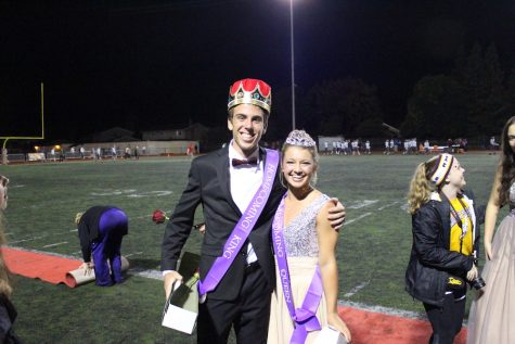Congratulations to the Senior King and Queen!