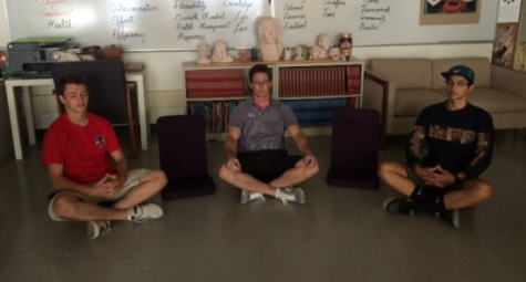 """Namaste"" to mindfulness at Amador"