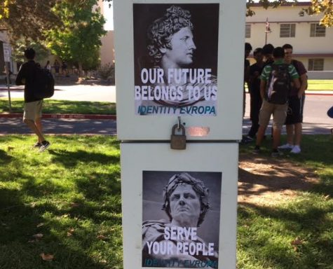 "Flyers from ""white power"" group found on campus"