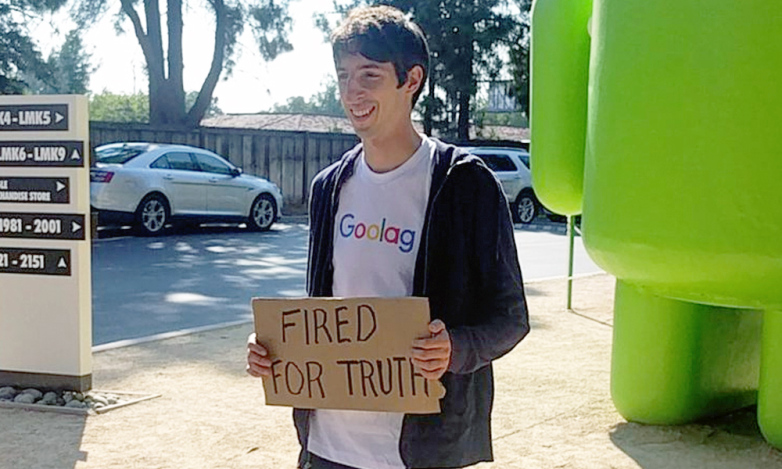 James Damore is under a lot of fire but he stands by his words.
