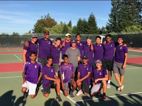 AV Boys Tennis Team Wins EBALs