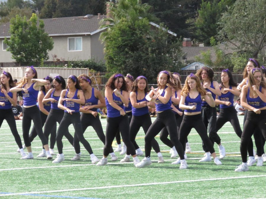 Dance team pulls out all the stops for the 2019 Aloha rally--no surprise there!