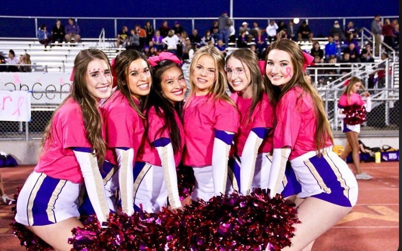 Dons+deck+out+in+pink+to+support+Breast+Cancer+Awareness