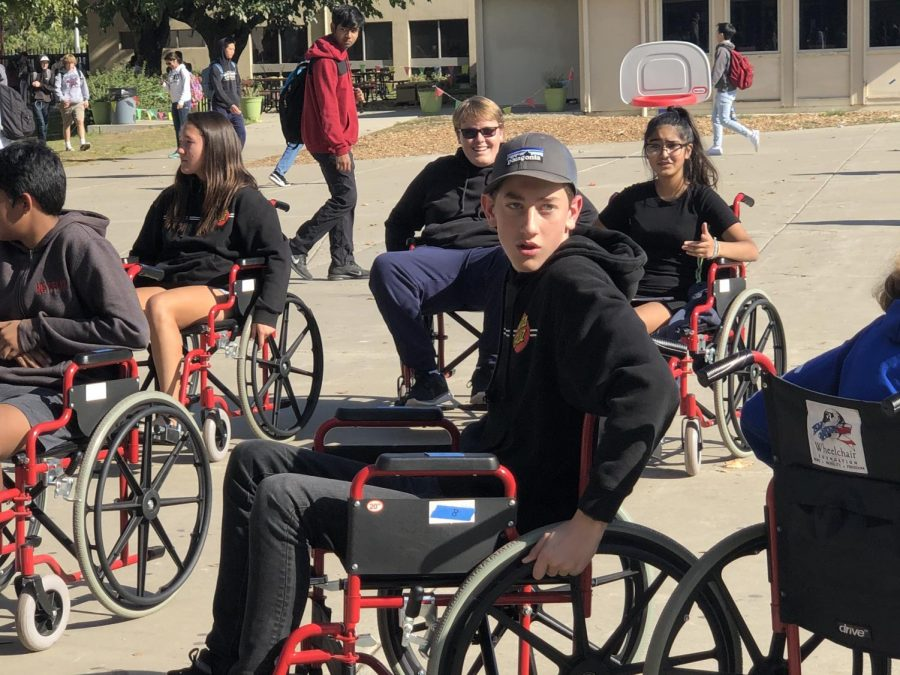 Wheelchair ambassadors organize a successful Abilities Awareness Week at Amador