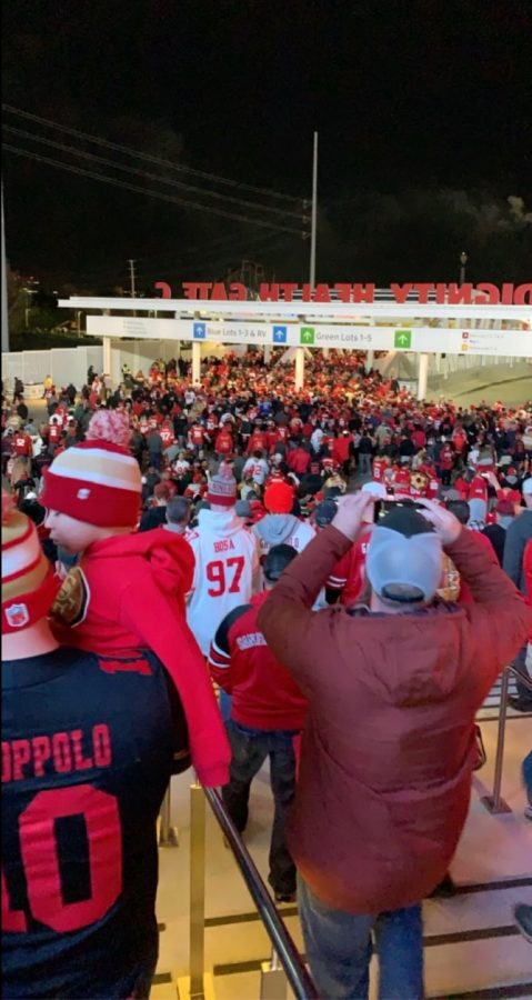Amador students react to Sundays 49ers game