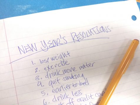 New Year's resolutions may be simple to write down but they're hard to do!