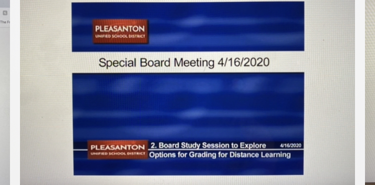 PUSD live-streamed their Board Meeting last night. The board listened to research, data, and public comments for almost 3 hours before they made their final decision to go with a hybrid grading system.