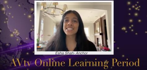 Esha Shah anchors AVtv 4-14-2020.
