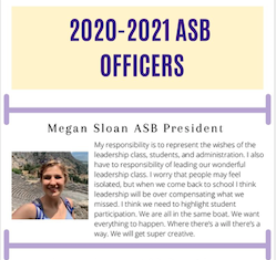Meet your ASB officers for 2020-2021!