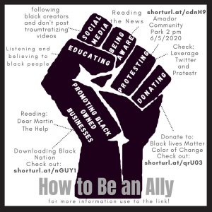 How to be a respectful and helpful ally for the black community