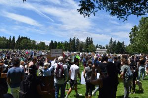 Pleasanton protests for