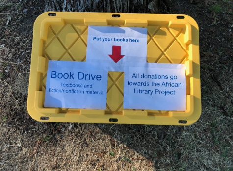 Rising seniors create local book drive in collaboration with African Library Project