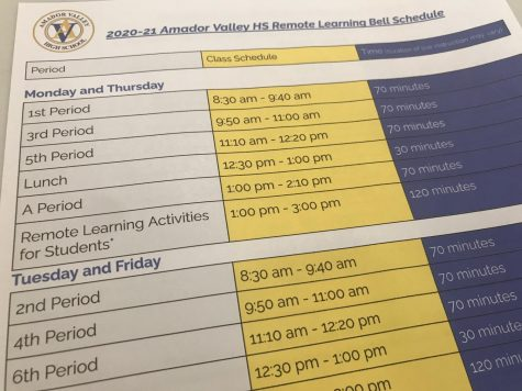 Whether a student is enrolled in Hybrid or FLEX, they follow the same bell schedule.