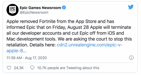 Does Friday Fortnite Mean Anything Fortnite Is Suing Apple What Does That Mean Amadorvalleytoday