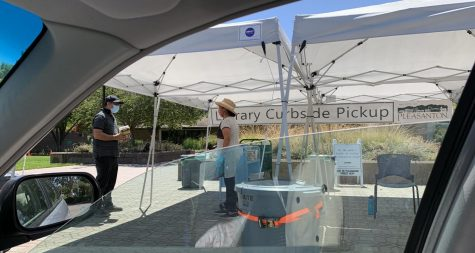 The Pleasanton library's curbside pickup system needs help