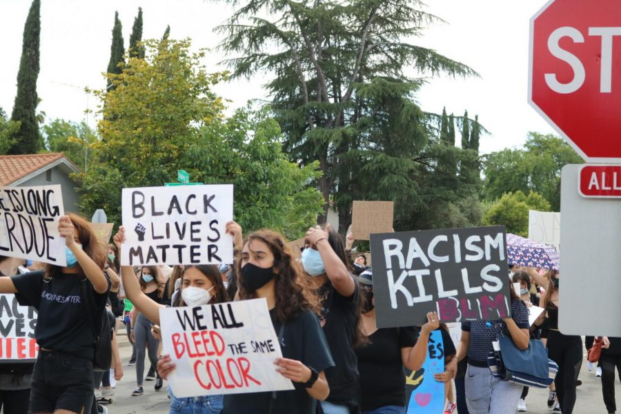 In June 2020, Amador students joined the BLM Pleasanton protest to demand change in this country.