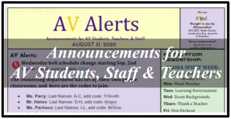AV Alerts
