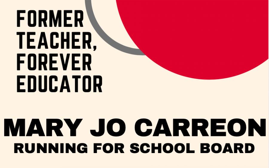Mary Jo Carreon runs for 'Educator of School Board'