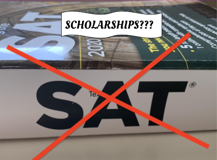 Though the UC system has adopted a test-blind approach, some schools still offer scholarships based on SAT/ACT results, creating a divide between individuals who can afford the long trip to an open test center, and individuals who can not.