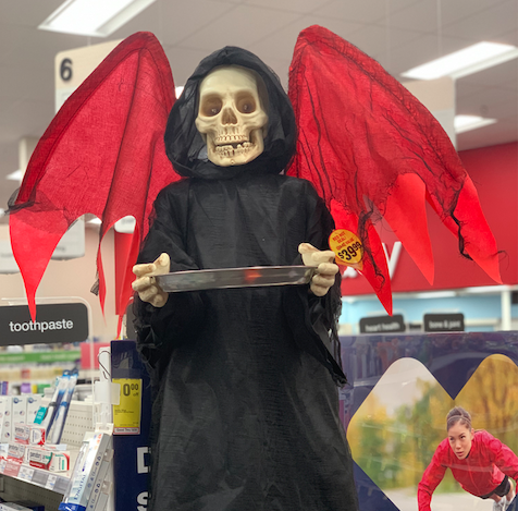 Come on down to CVS to find some spooky decorations!