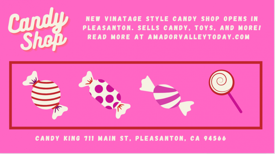 King Candy is a great store for anyone with a sweet tooth!