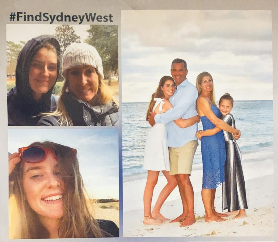 Sydney+West+was+last+spotted+wearing+black+leggings%2C+a+teal+hoodie%2C+dark+green+and+black+Vans+and+with+her+hair+in+a+bun.+