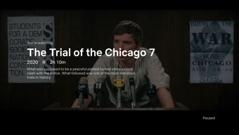 Netflix's 'The Trial of the Chicago 7' was released on October 16.