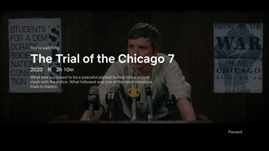 Netflixs The Trial of the Chicago 7 was released on October 16.