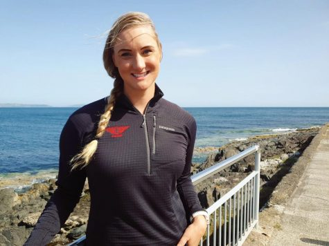 Amador alum Catherine Breed is the first woman to swim a record time from Santa Cruz to Monterey