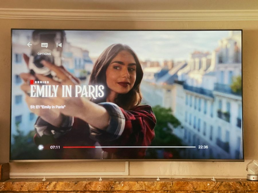 The Netflix series set in France stars actress Lily Collins.