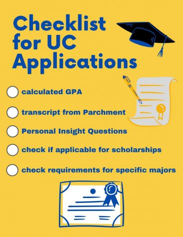 Applying to UCs can be challenging, but staying focused and taking it one step at a time can help.