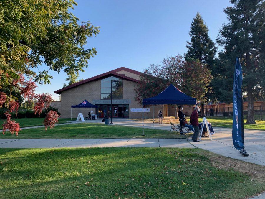 Pleasanton polling places have plenty of safe space for voters!