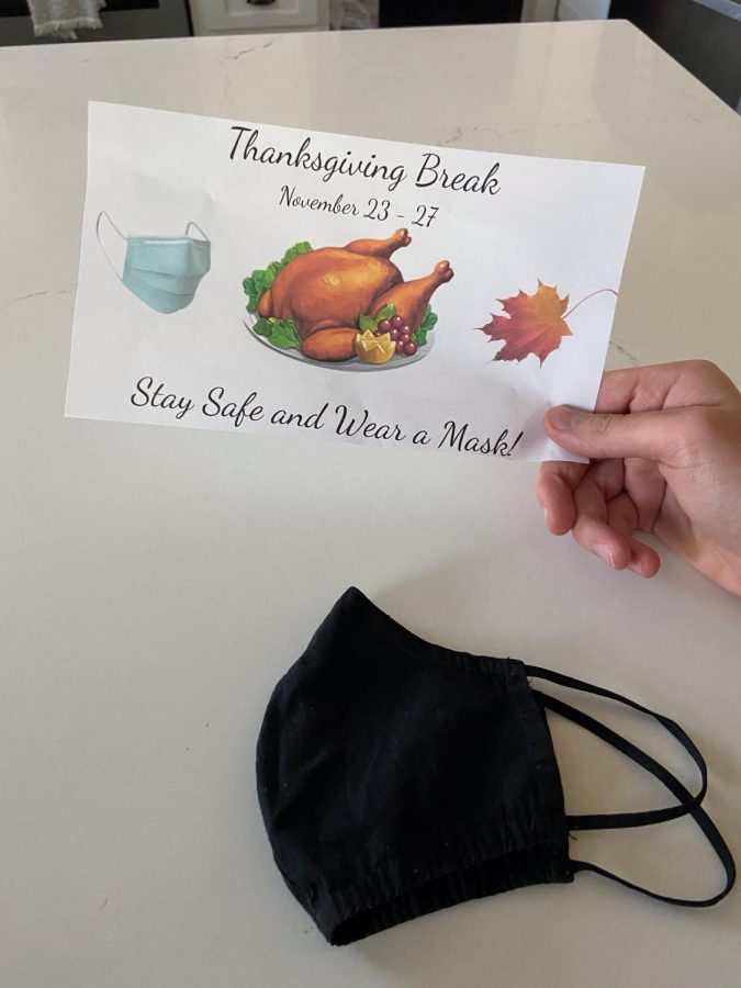 Students of Amador are getting ready for a socially distanced Thanksgiving break.