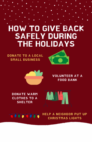 As we are in the middle of the holiday season, it's important to find ways to give back to our community after a troubling year.
