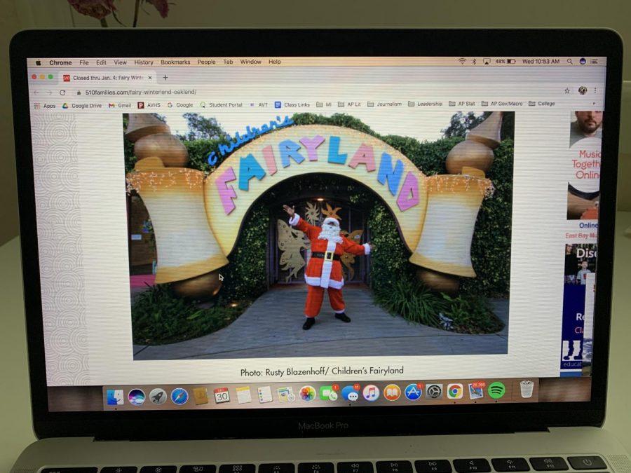 Black+Santa+has+been+part+of+Fairy+Winterland%27s+celebrations+since+1993.+