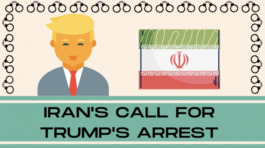 Iran's request for Trump's arrest once he leaves office
