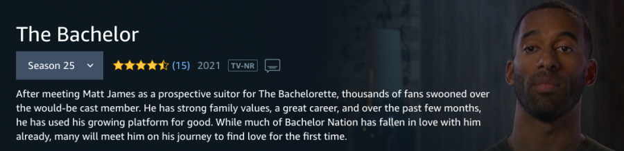 'The Bachelor' airs every Monday on ABC.