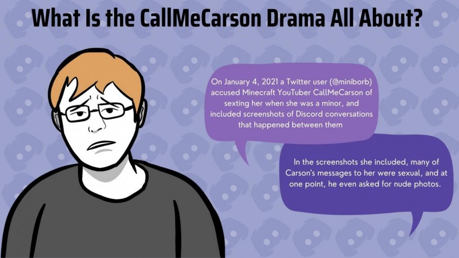 CallMeCarson, a popular YouTuber, has recently been accused of inappropriate sexting with an underage fan.