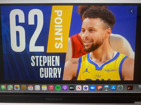 A look at Stephen Curry who hit his career high of 62 points against the Portland Blazers.