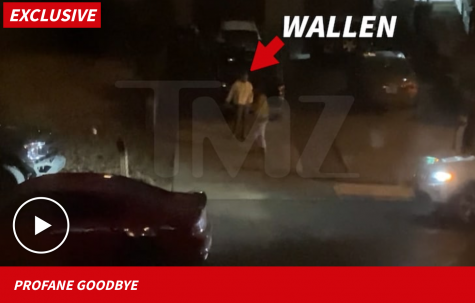 In a video posted by TMZ, viewers can see Wallen walking home from a night with friends when he hurls out the N-word slur.