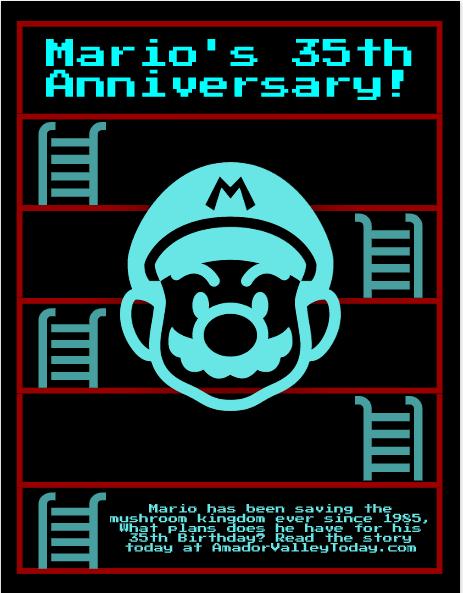 Marios 35th anniversary saw Nintendo fans jump for joy