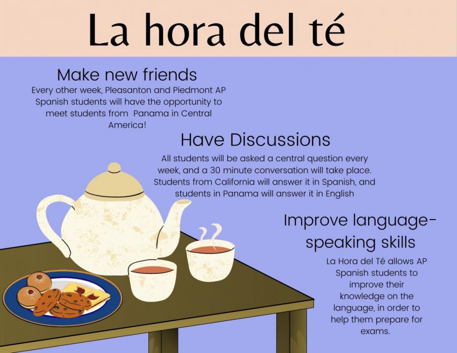 The La Hora del Te program will bring together students from California and Panama starting next week.