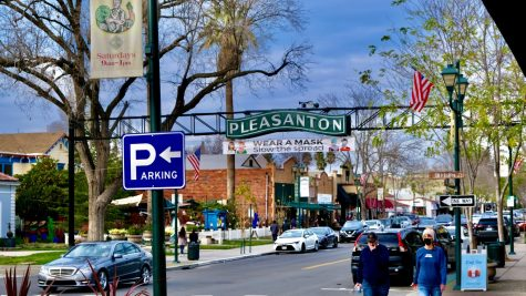 March 2021: Downtown Pleasanton slowly opens back up to the public