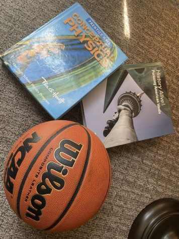 Finding a balance with schoolwork and sports can be tricky but possible!