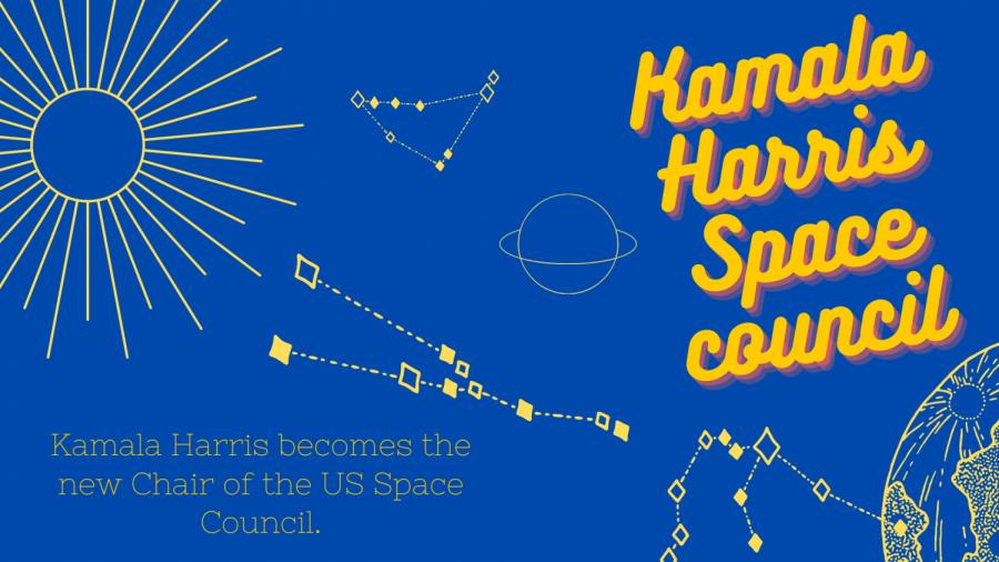 Kamala Harris is set to chair the U.S. Space Council